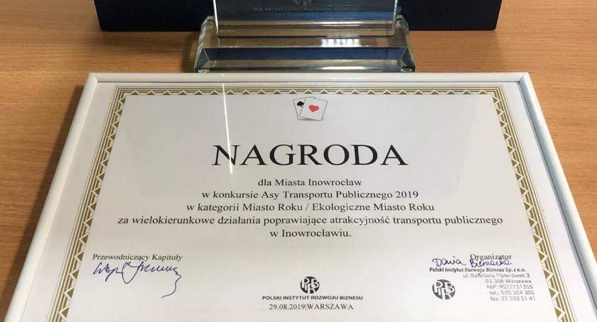 Inowrocław laureatem Asów Transportu Publicznego