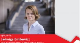 Jadwiga Emilewicz spotka się z przedsiębiorcami