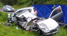 Tragiczny wypadek na krajowej 25