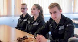 Laureaci z klasy policyjnej w ZSP nr 1