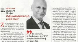 """Ryszard Brejza drugim prezydentem w Polsce w rankingu """"Newsweeka"""""""