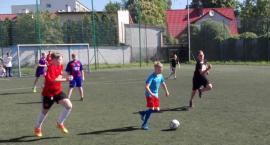 Uczniowie w piłkę zagrali