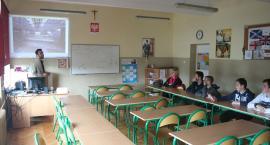 Studenci z Indonezji i Egiptu w inowrocławskim gimnazjum