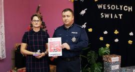 Policjanci i pracownicy z Kruszwicy w akcji Szlachetna Paczka