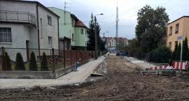 Trwa przebudowa przyszkolnych ulic