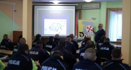 Kujawsko-pomorscy policjanci doskonalili techniki jazdy samochodem