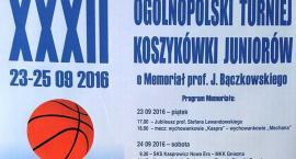 XXXII Ogólnopolski Turniej Koszykówki Juniorów o Memoriał prof. J. Bączkowskiego