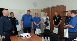 Wizyta niemieckich policjantów w Inowrocławiu