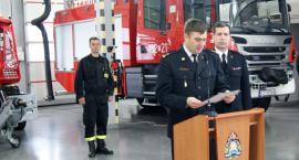 Awanse służbowe i nowe pojazdy w inowrocławskiej straży