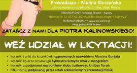 Zatańcz i zalicytuj dla Piotra Kalinowskiego!