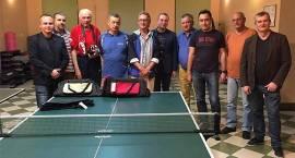 Wetereni zagrali w tenisa stołowego