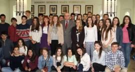 Uczniowie i nauczyciele z Hiszpanii w Inowrocławiu