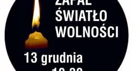 Ofiarom stanu wojennego. Zapal Światło Wolności