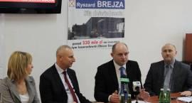 Ryszard Brejza z mocnym poparciem marszałka województwa oraz prezesa PESY