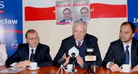 Jarosław Gowin popiera Grzegorza Roszaka (MP3)