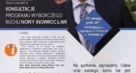 """Ruch """"Nowy Inowrocław"""" rozpoczyna konsultacje"""