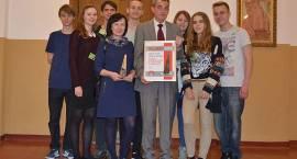 """Nagroda """"Wilamy"""" 2013 dla III Liceum Ogólnokształcącego"""