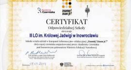 III LO z certyfikatem