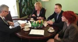 Rozmawiali z ministrem o sporcie