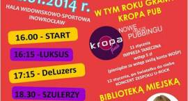 Znamy program WOŚP 2014