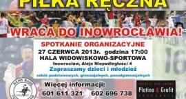 Reaktywacja piłki ręcznej w Inowrocławiu