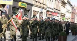 Pierwsze święto 2 Inowrocławskiego Pułku Inżynieryjnego