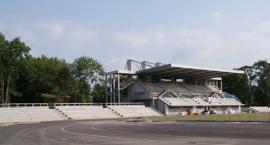 Prezydent wizytował remontowany stadion
