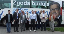 Błękitny Tour odwiedził Inowrocław
