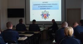 Inowrocławska Policja podsumowała 2017 rok