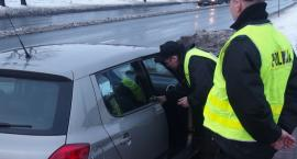 Policja kontrolowała samochody i pieszych