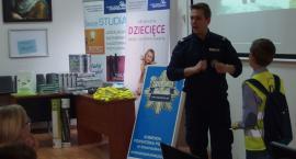 Policjanci spotkali się z uczestnikami Uniwersytetu Dziecięcego