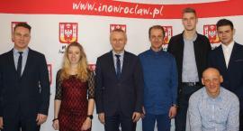 Sportowcy w inowrocławskim ratuszu