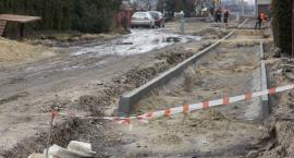 Trwa przebudowa ulicy Kolejowej