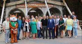 Samorządowcy z Ukrainy gościli w inowrocławskim ratuszu