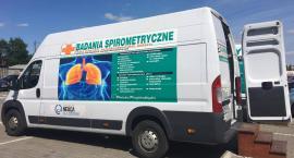 Akcja bezpłatnych badań płuc w Kruszwicy