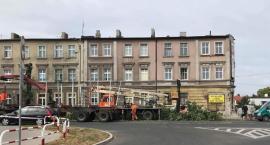 Padły drzewa przy ul. Toruńskiej