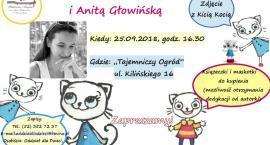 Popołudnie z Kicią Kocią i Anitą Głowińską