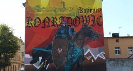 Mural z Konradowicem już gotowy