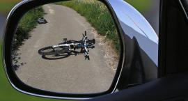 Potrącił rowerzystkę, stracił prawko