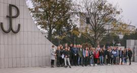 Maturzyści z wizytą w Warszawie