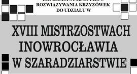 XVIII Mistrzostwa Inowrocławia w Szaradziarstwie