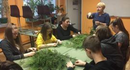 Warsztaty świąteczne w ZSP w Kościelcu