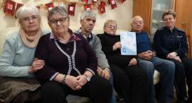 Inowrocławscy seniorzy otrzymali podziękowania z MSWiA