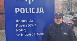 Policjant z Janikowa także poza służbą czujny na drodze