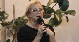 Małgorzata Rogalska odwiedziła Inowrocław