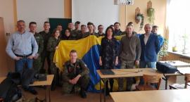 Przedstawiciele Aeroklubu Kujawskiego w ZSP Kościelec