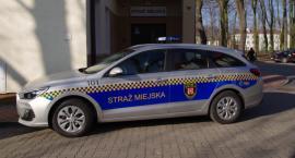 Straż Miejska z nowym samochodem