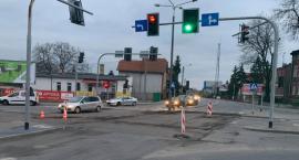 Utrudnienia w ruchu na skrzyżowaniu ul. Szymborskiej, Marulewskiej i Andrzeja