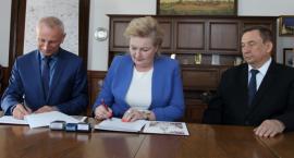 Prezydent ze starostą podpisali porozumienie