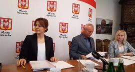 Konferencja prezydenta Inowrocław